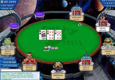 Full tilt poker online tournaments