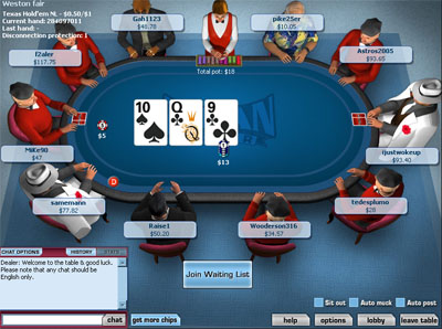 Poker card hand percentages